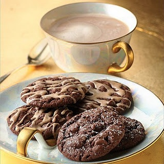 Chocolate Chai Latte Cookies! | Gimme that sweet stuff | Pinterest