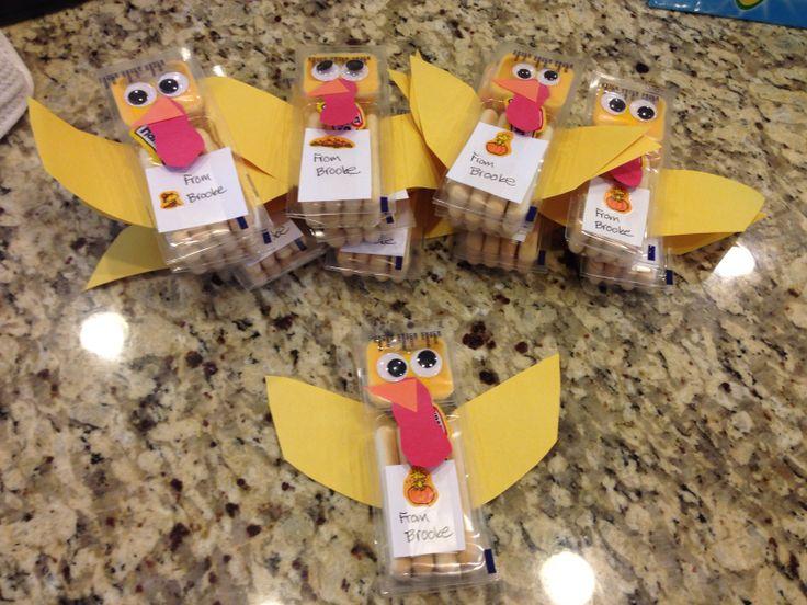 Thanksgiving snack for preschoolers