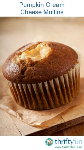 Pumpkin Cream Cheese Muffin Recipes | breakfast | Pinterest