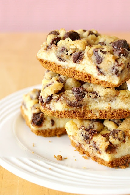 cookie cheesecake bars | Cookies and Bars | Pinterest