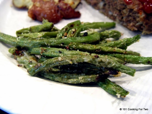 Parmesan Roasted Green Beans | Recipe