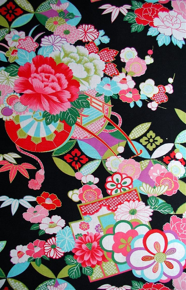 This final Asian motif fabric the