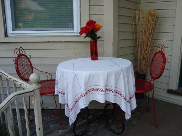 Apartment Porch