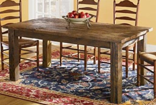 barn style kitchen table