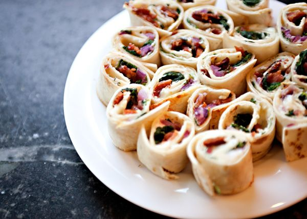 Spinach and Bacon Roll Ups | Recipe