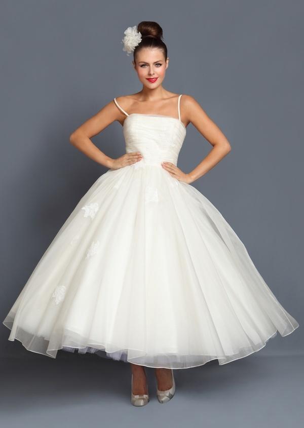 1950s Style Wedding Dress Olivia Style Pinterest