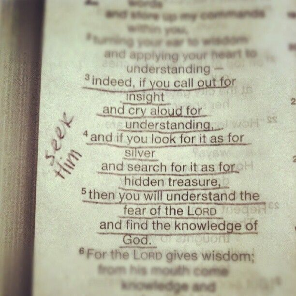 Proverbs 2:3-5.... Search for Jehovah God while he can still be found.
