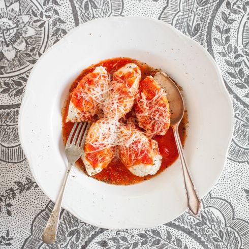 Ricotta Gnudi With Pomodoro Sauce Recipes — Dishmaps