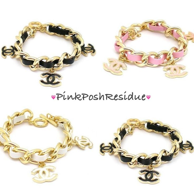 chanel charm bracelet chanel inspired by pinkposhresidue