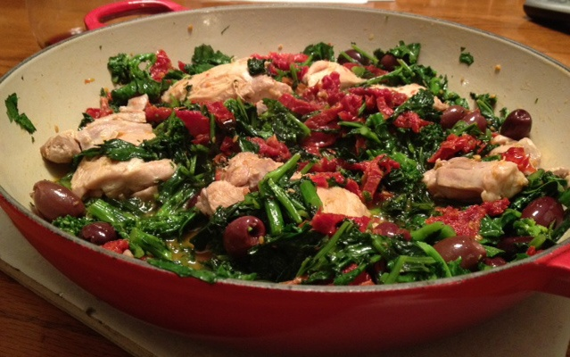 Sauteed Chicken and Broccoli Rabe | Recipes to Try | Pinterest