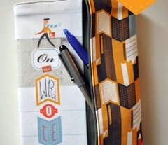 Bruce the Notebook Jacket + Pencil Pouch from Lien Geeroms