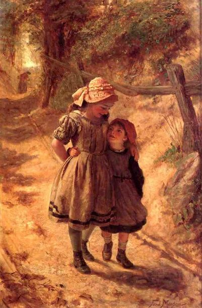 Frederick Morgan (1847 – 1927, English)