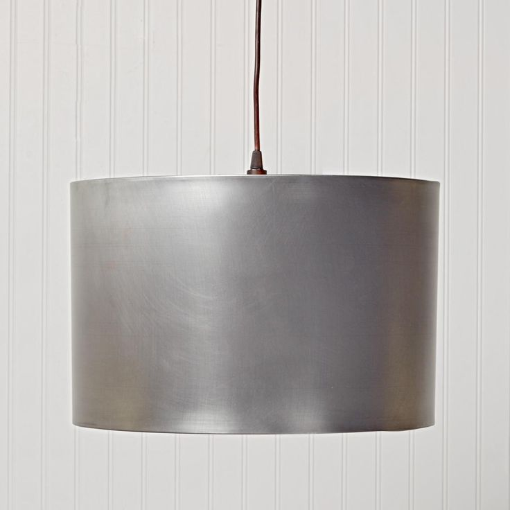 Metal Drum Shade Pendant Light Available In 3 Colors Black Antique