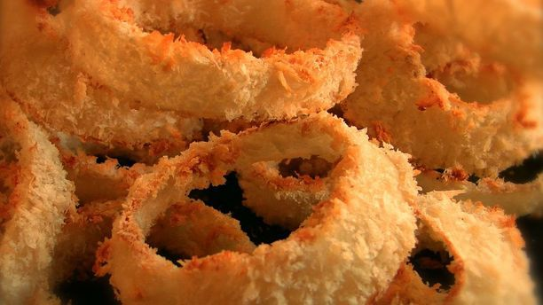 Crispy Baked Chipotle Onion Rings (Baked, Not Fried!)