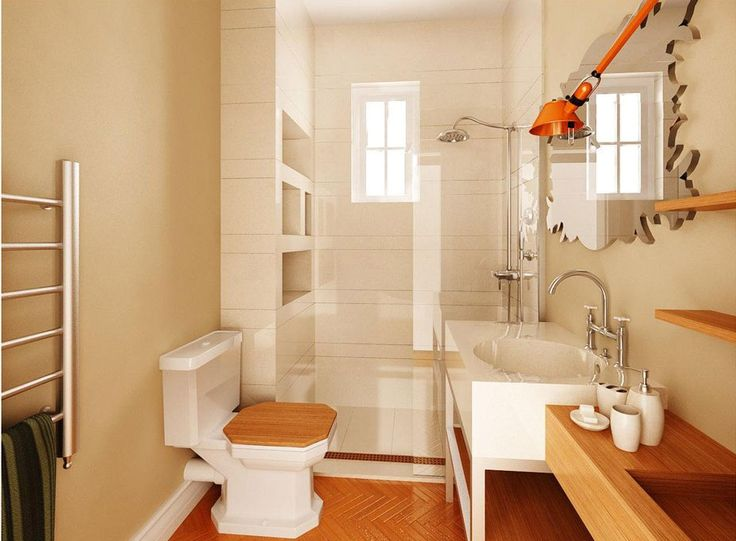 Bathroom colors for small spaces
