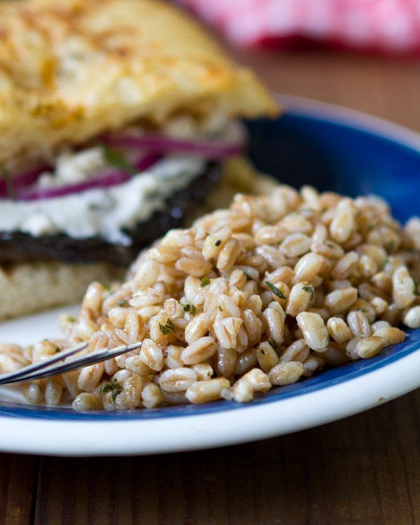 Farro with Garlic and Herbs | Healthy Choices | Pinterest