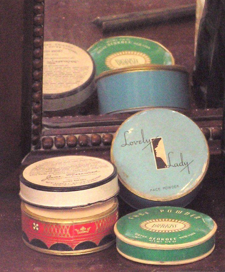 vintage cosmetics   Things/People I Love   Pinterest