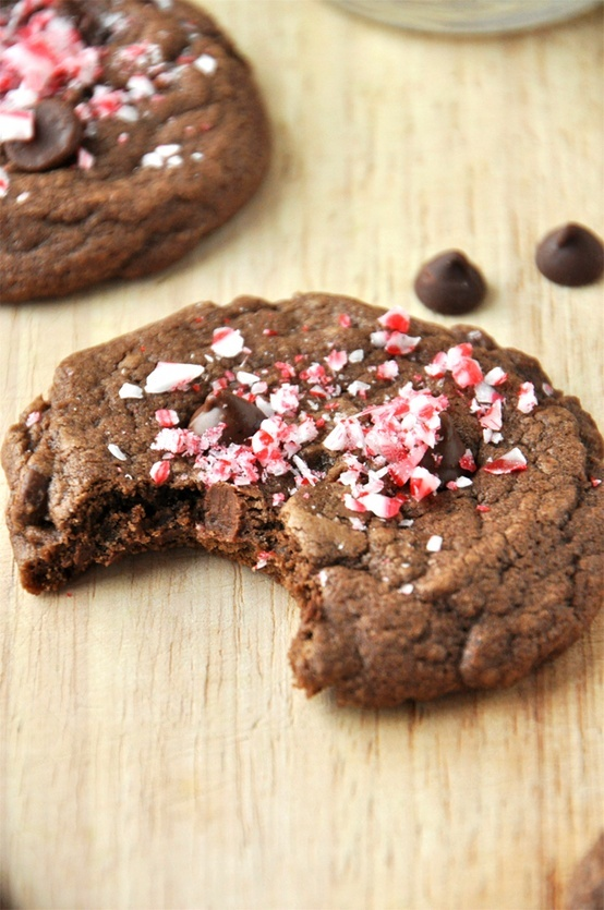 peppermint bark chocolate cookies chocolate peppermint bark cookies ...