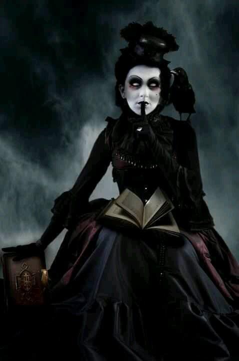 Dark gothic erotic art