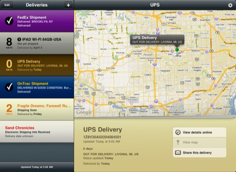 package tracking app iphone