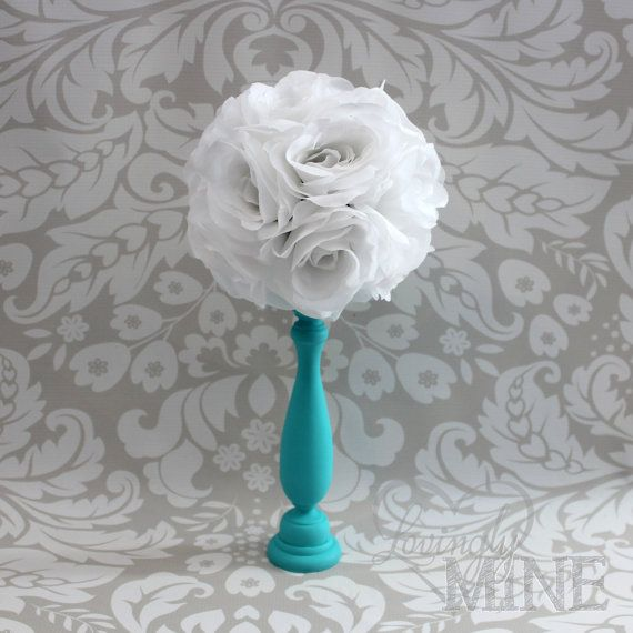 Tiffany co inspired centerpiece in blue with