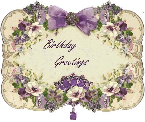 с днем рождения винтажные картинки