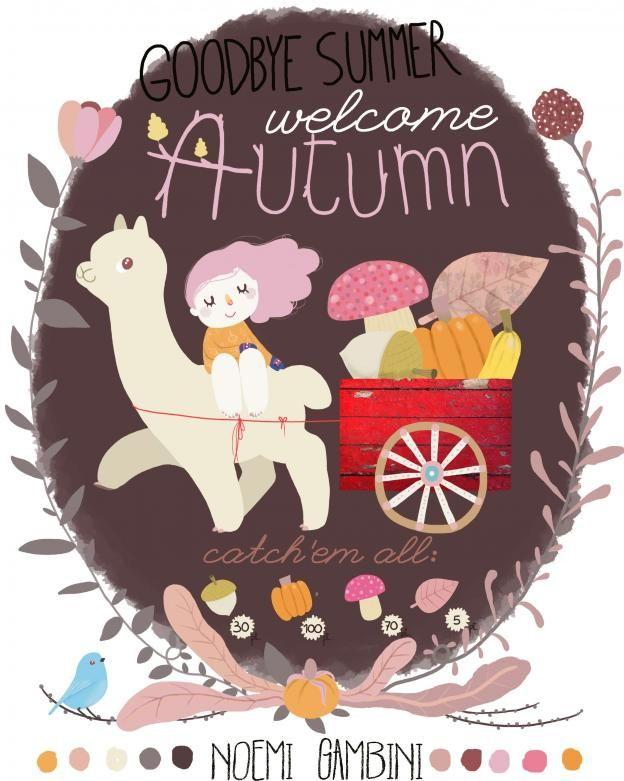 Noemi Gambini: Lila Rogers Global Talent Search: Welcome Autumn