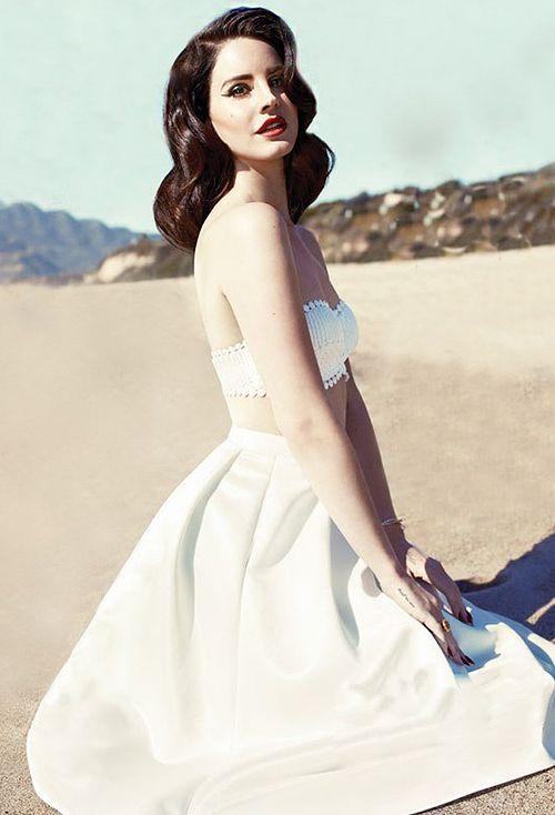 lana del rey - white dress | Clothes | Pinterest
