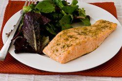 Roasted Salmon with Rosemary-Garlic Rub | Recipe