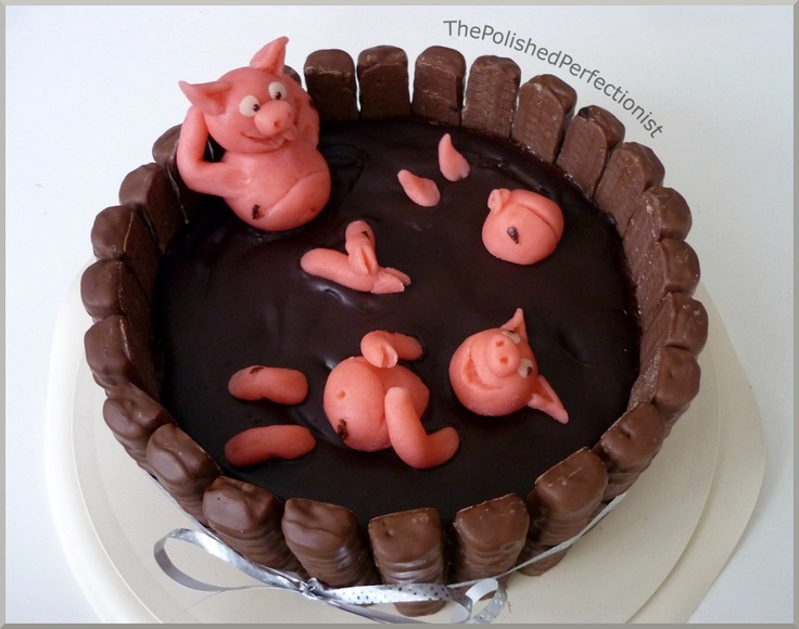 PIGs in the mud... @ Kendra Frazier Poteat, this made me think of you ...