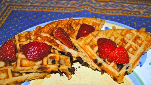 ... : Crazy Bacon and Chocolate Waffles and Mulled Maple Syrup | Recipe