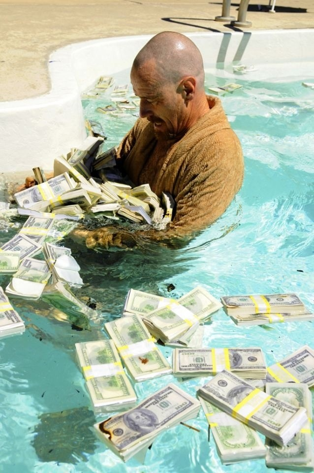 Swimming Pool Full Of Money : Filthy rich swim in money i have won pinterest
