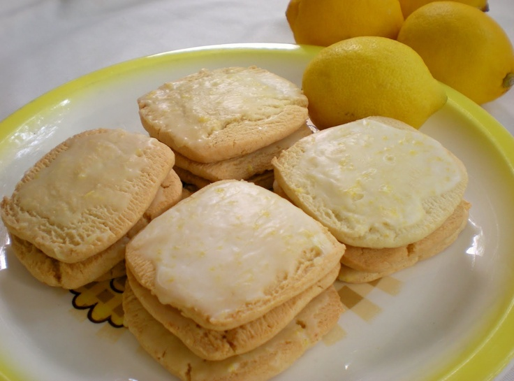 Lemon Glazed Cookie Recipe | Cookies | Pinterest