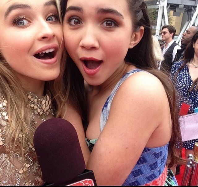 rowan blanchard carpenter and nude Sabrina