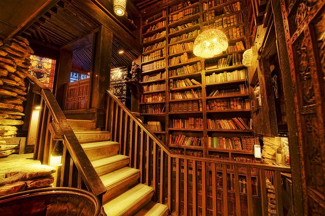 Library at the House on the Rock (Dodgeville, Wisconsin)