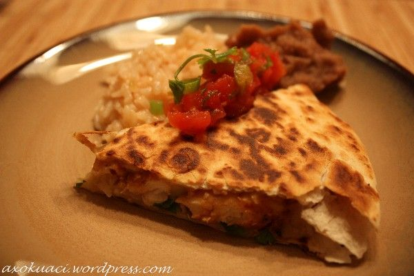 Grilled Chicken and Pineapple Quesadilla | FOOD - Appreciation Lunche ...