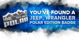 Congratulations! You found a badge in our Polar Quest. Click the image to claim your badge and enter for the chance to win a trip to Jackson Hole Mountain Resort.