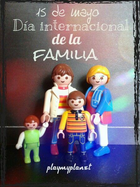 Feliz día de la familia | PLAYMOBIL | Pinterest