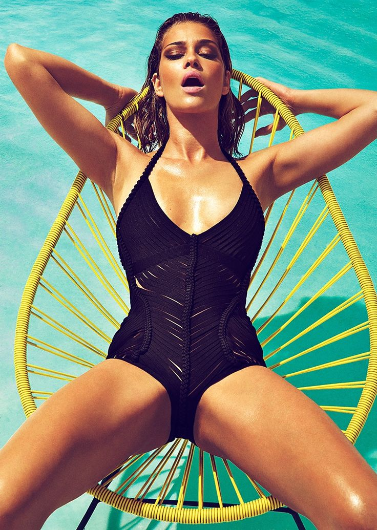 Ana Beatriz Barros Sizzles in Swimsuit Style for GQ Spain Shoot by Richard Ramos