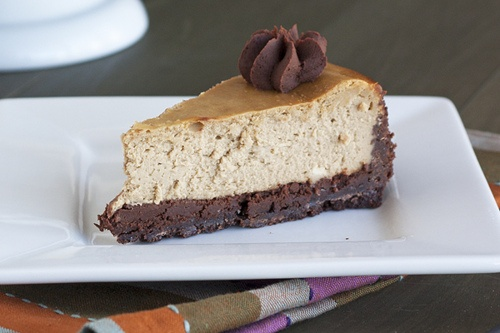 Cappuccino Fudge Cheesecake | Food Porn | Pinterest