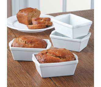 BIA Cordon Bleu Mini Loaf Pan, Set of 4 | CHEFScatalog.com