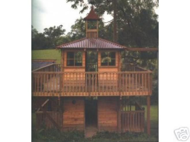 How to build two story t playhouse plans pdf plans for How to build a 2 story playhouse