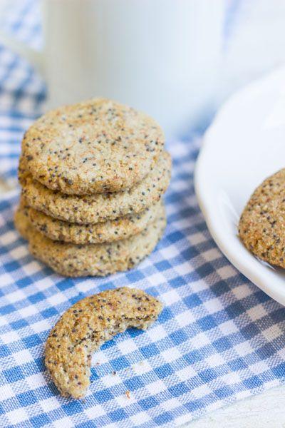 Lemon Poppy Seed Cookies via @Alyssa | Queen of Quinoa | #glutenfree # ...
