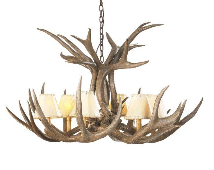 antler light fixture i am feeling antlers pinterest. Black Bedroom Furniture Sets. Home Design Ideas