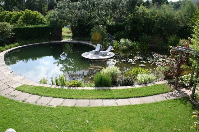 Swimming Pond Worcestershire 4 Our Home Pool And Greenhouse Pinte