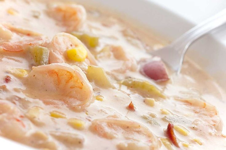 Recipe for Shrimp and Corn Chowder at Life's Ambrosia