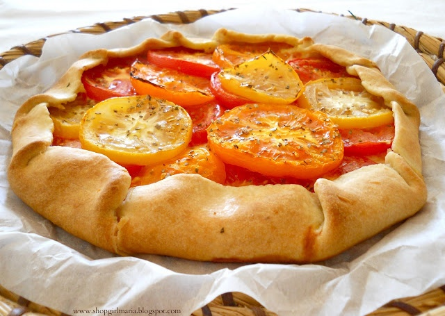 Heirloom Tomato Galette   There's a Rumbly in My Tumbly   Pinterest