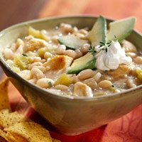White Chili- I'll have to try this in the fall