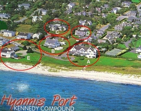 Aerial View Of Kennedy Compound Kennedy Pinterest