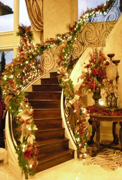 Escadaria de Natal Lindo